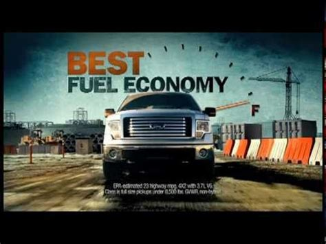 2011 ford f 150 commercial youtube