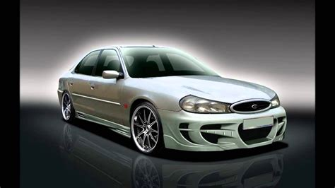 ford mondeo mk tuning body kit youtube