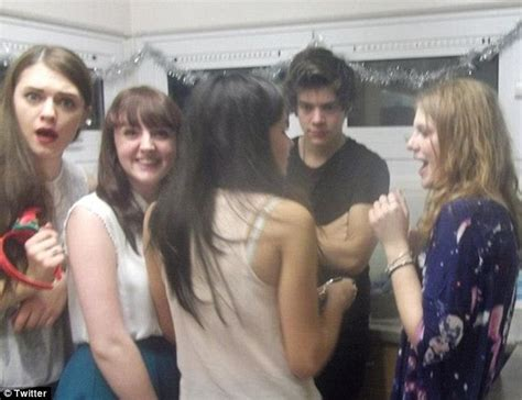 madelaine petsch university harry styles parties with a group of girls just hours
