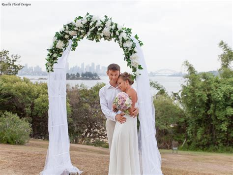 Wedding Arch Sydney by D 233 Cor For Hire Rosella Floral Designs Sydney Wedding