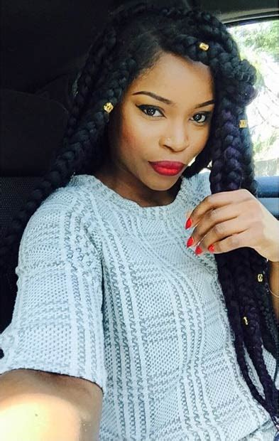 black people jumbo braid 21 best jumbo box braids hairstyles instagram style and