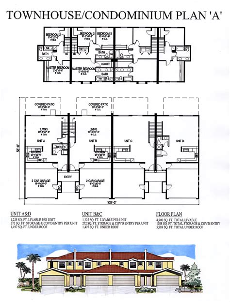 Condo House Plans Condo House Plans 171 Floor Plans 100 Condominium House Plans