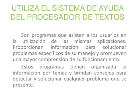 procesador de texto procesador de textos p