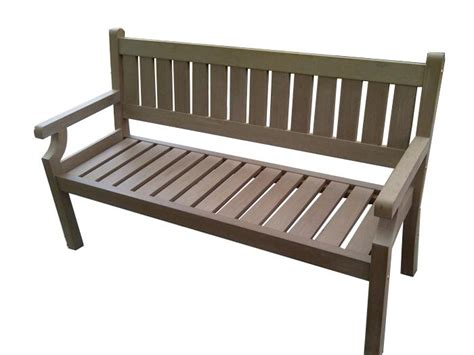 all weather garden bench the all weather composite bench simple maintenance