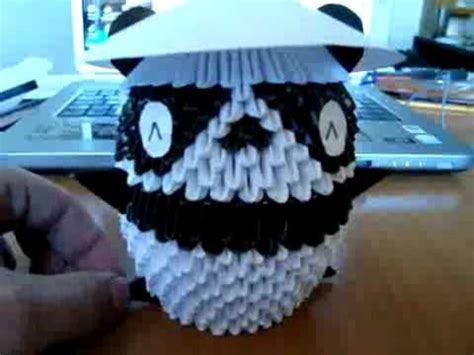 3d Origami Panda Tutorial - 17 best images about origami tutorials on baby