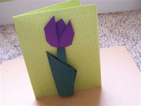 Origami Flowers For Cards - origami paper folding into pots slideshow