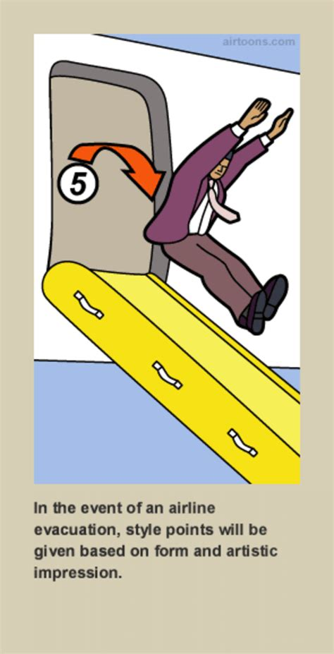 airline safety card template image 449712 safety parodies your