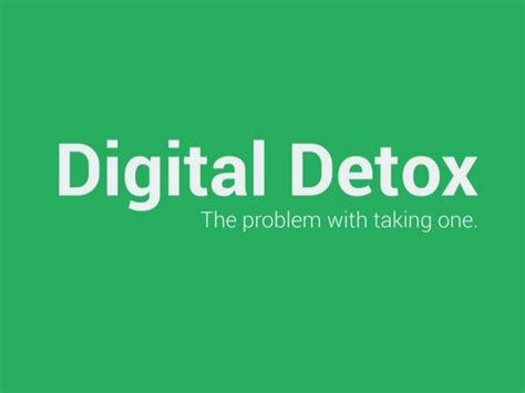 Digital Detox App Iphone by The Problem With Taking A Digital Detox