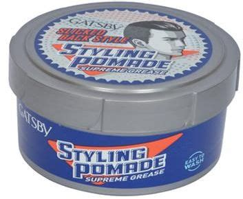 Pomade Gatsby New gatsby styling pomade supreme grease 80gm price review and buy in dubai abu dhabi and rest of