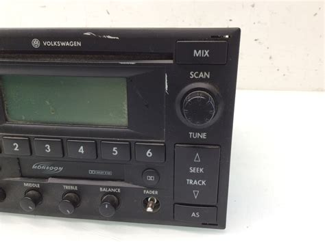 Monsoon Radio Knobs by 2004 2005 Volkswagen Passat Am Fm Cassette Cd Monsoon