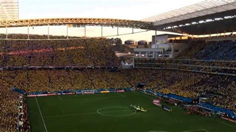 Brasil X Croacia Hino Nacional Na Abertura Da Copa Do Mundo De 2014