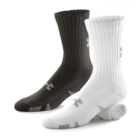 under armoir socks under armour 174 4 prs crew socks 102586 socks at sportsman s guide