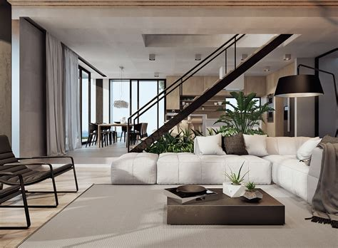 contemporary interior designs for homes stunning costa house with a spectacular coastal view