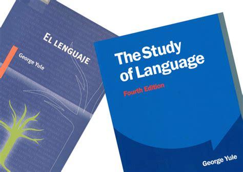 libro the study of language la experta opini 243 n de la profesora marta gen 237 s pedra sobre el libro the study of language