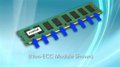 Ram Ecc ecc memory vs non ecc memory what s the difference between these types of ram