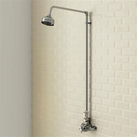 Bathrooms Ideas Photos by Trafalgar Traditional Twin Exposed Shower Valve
