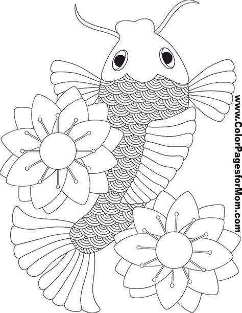 coloring pages for adults asian asian coloring page 18