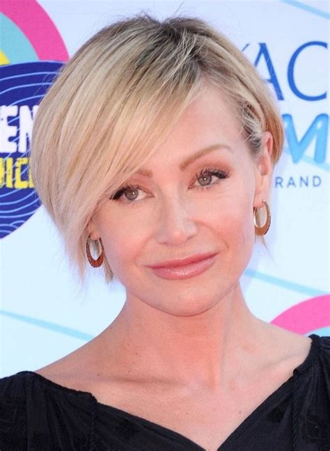 2014 Portia de Rossi's Short Hairstyles: Short Hair with