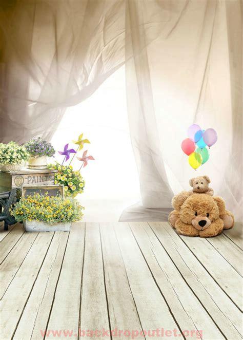 children photography backdrops only 25 00 photography backdrops fantasy ballon bear
