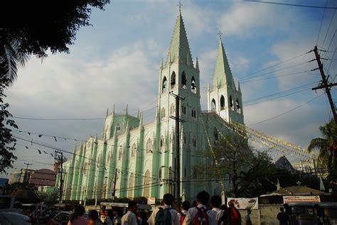 history  san sebastian basilica bakas pilipinas