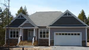 Small Home Plans Scotia One Level Bungalows Ranch Style Homes Halifax