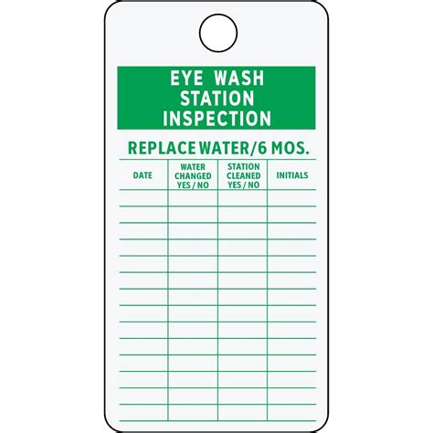Eye Wash Check Form Pictures To Pin On Pinterest Thepinsta Eyewash Station Checklist Template