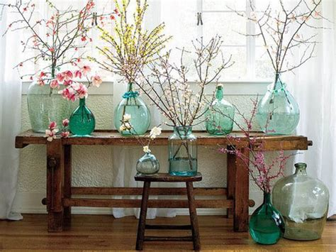 spring decorating 15 floral arrangements with flowering branches spring