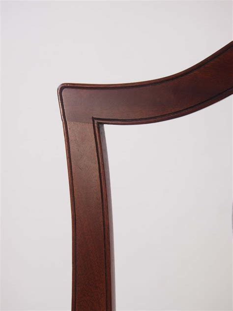 antique mahogany side chairs pair 19th century mahogany side chairs