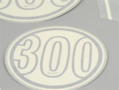 3d Aufkleber Vespa by Aufkleber Set Sticker Piaggio Vespa 300 Gts Blau Ebay
