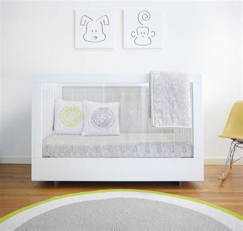 Lucite Crib by Acrylic Nursery Decor Project Nursery Nursery Decor And