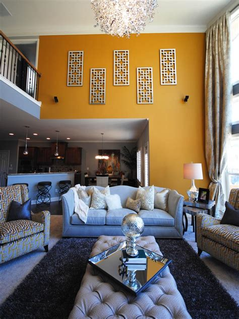 hgtv living rooms contemporary yellow gray contemporary living room paisley mcdonald hgtv
