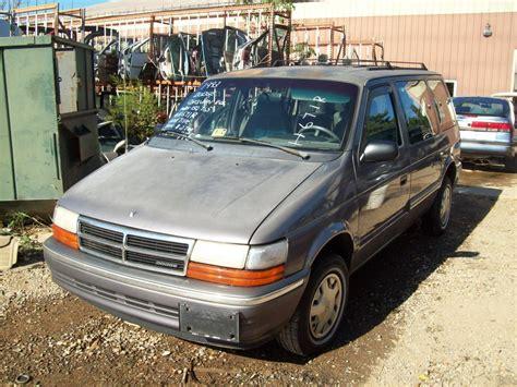 how to sell used cars 1993 dodge caravan regenerative braking cars dodge caravan 1993 auto database com