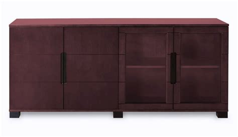 Cabinet Hays by Modern Cabinet Mahogany With Glass Doors Zuri