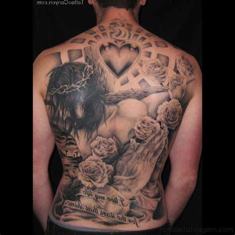 tattoo jesus cristo nas costas tatuagem de jesus foto de tatuagem