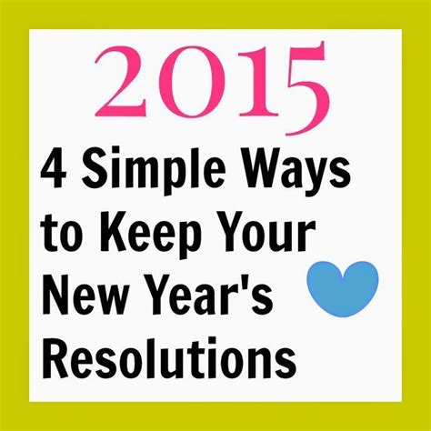 8 Ways To Keep Your New Years Resolutions by 117 Best Business Images On Blogging