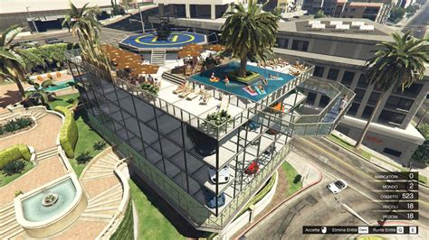 mod gta 5 map editor michael s garage 2 party terrace map editor spg