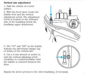 2014 explorer headlight adjustment   autos post