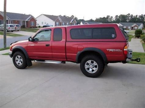 tacoma bed cap extended cab bed cap nc impulse red pearl tacoma world