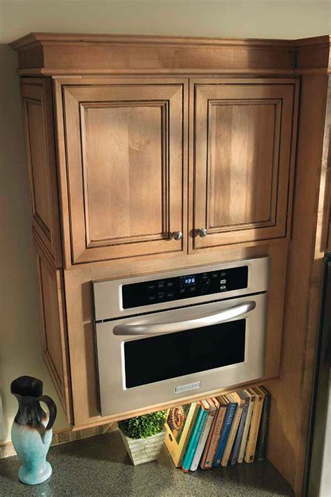 Microwave Furniture Cabinet Microwave Cabinet Kemper Cabinetry