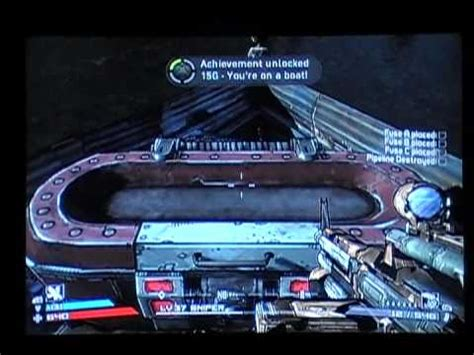 you re on a boat borderlands achievement guide 4 borderlands you re on a boat speedy
