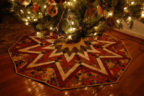 merry christmas tree skirt my quilt place