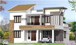 2035 square feet modern 4 bedroom house exterior kerala home