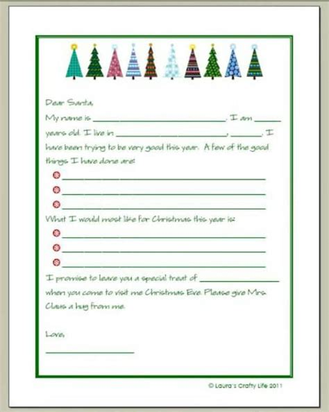 20 Free Printable Letters To Santa Templates Spaceships And Laser Beams Free Printable Letters From Santa Templates 2