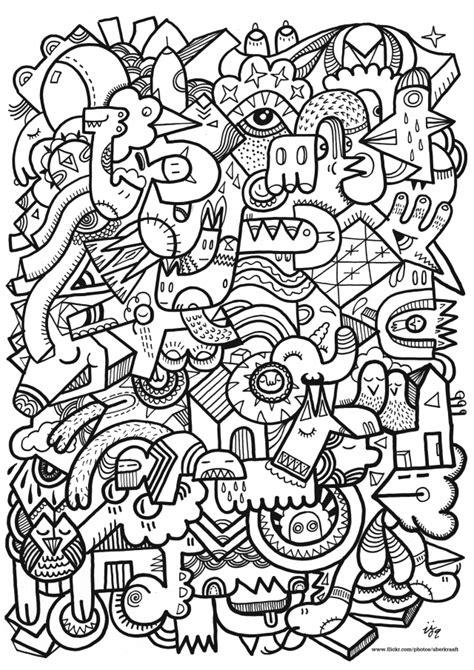 hard printable coloring pages for adults coloring home