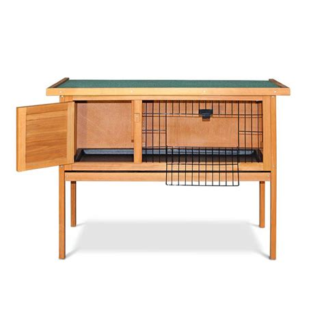 Buy Rabbit Hutch rabbit hutch guinea pig cage on legs w hinged lid buy rabbit hutches