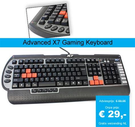 Keyboard Gaming X7 advanced x7 gaming keyboard dagelijkse koopjes en aanbiedingen