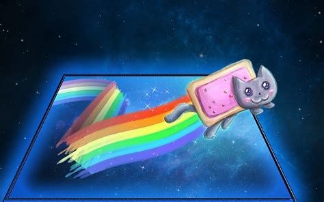 Rainbow Cat Meme - rainbow meme background www imgkid com the image kid