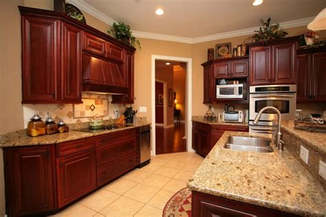 countertops with cherry cabinets granite countertop colors with cherry cabinets