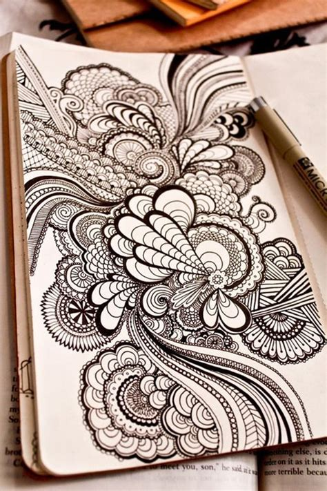 define pattern drawing 40 beautiful doodle art ideas bored art