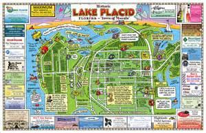 map of lake placid florida maps usa